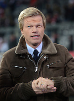 FUSSBALL   CHAMPIONS LEAGUE   SAISON 2012/2013   GRUPPENPHASE   FC Bayern Muenchen - FC Bate Borisov              05.12.2012 TV EXPERTE Oliver Kahn