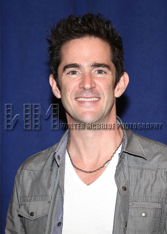 Andy Blankenbuehler attending the Meet & Greet for 'ANNIE' at The New 42nd Street Rehearsal Studios in New York City on September 112, 2012
