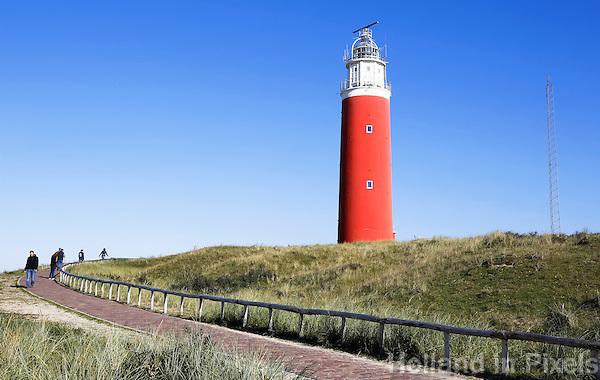 Nederland Texel 2015. Vuurtoren Eierland bij De Cocksdorp op Texel