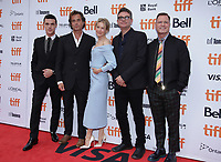 """TORONTO, ONTARIO - SEPTEMBER 10: Finn Wittrock, Rupert Goold, Renee Zellweger, David Livingstone and guest attend the """"Judy"""" premiere during the 2019 Toronto International Film Festival at Princess of Wales Theatre on September 10, 2019 in Toronto, Canada. Photo: PICJER/imageSPACE/MediaPunch"""