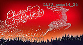 Sinead, CHRISTMAS SYMBOLS, paintings, LLSJXMAS14/24,#xx# Symbole, Weihnachten, Geschäft, símbolos, Navidad, corporativos, illustrations, pinturas