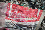 21 May 2019, Bangun Village,East Java, Indonesia: Australian branded waste in dumps at Bangun Village outside Surabaya, Indonesia. Millions of tonnes of recyclable plastic trash from Australia and Europe is dumped for rag pickers to separate and sort. The plastics are used to fuel fires at local tofu factories among other industries. Australia is illegally sending non recyclable trash hidden within this lode and the Indonesian Government is cracking down on the practice and preparing to refuse to take Australia's rubbish that is creating environmental and health issues locally. Picture by Graham Crouch/The Australian