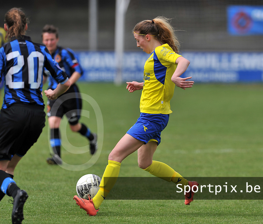 Club Brugge Dames - STVV Sint Truidense VV : Charlotte Cranshoff.foto DAVID CATRY / Nikonpro.be