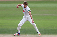 Matt Quinn of Essex celebrates taking the wicket of Tom Moores during Nottinghamshire CCC vs Essex CCC, Specsavers County Championship Division 1 Cricket at Trent Bridge on 10th September 2018