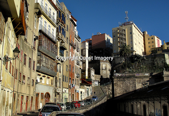 Porto also known as Oporto, is the second largest city in Portugal, after Lisbon, and one of the major urban areas in the Southern Europe.<br /> Photo by Mike Rynearson/Quest Imagery