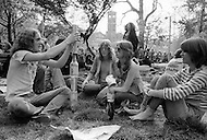 Manhattan, New York City, NY. April, 1975.<br />