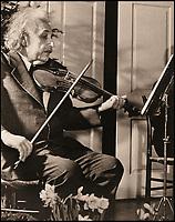 Einstein's violin.