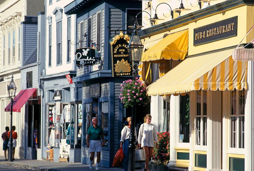Thames street shops New Port RI