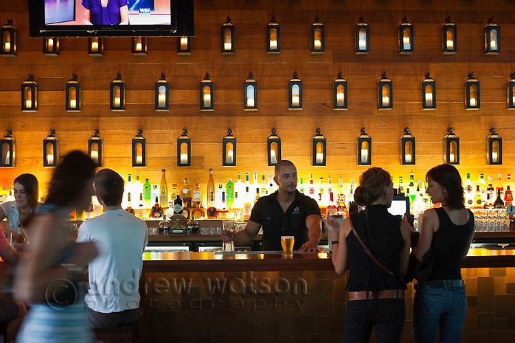 Salt House Bar.  Marina Point, Cairns, Queensland, Australia