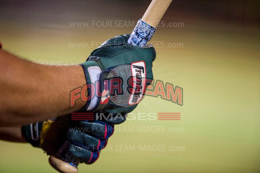 AZL Diamondbacks third baseman Buddy Kennedy (43) grips his bat against the AZL Angels on August 20, 2017 at Diablo Stadium in Tempe, Arizona. AZL Angels defeated the AZL Diamondbacks 19-1. (Zachary Lucy/Four Seam Images)