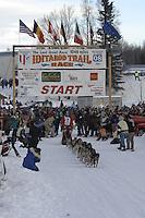 Dries Jacobs Willow restart Iditarod 2008.