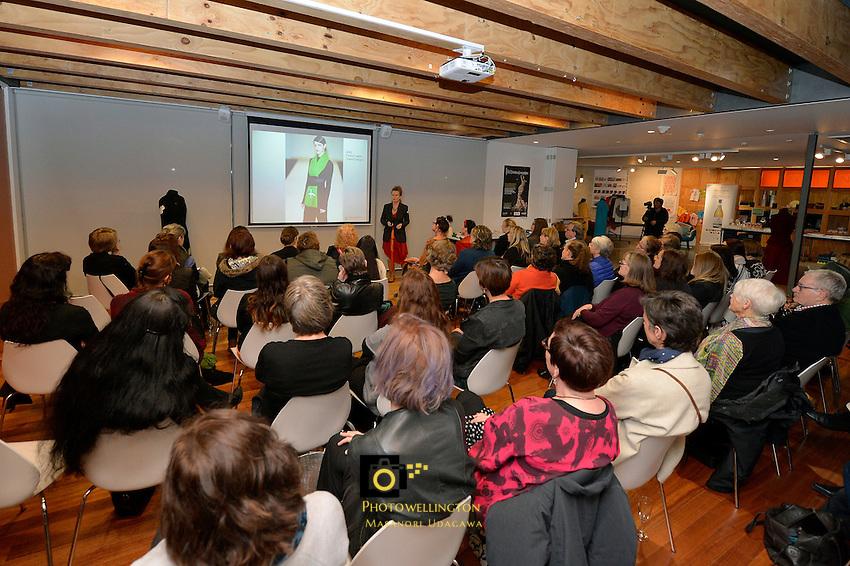 New Zealand Eco Fashion Week - Miranda Brown Conscious Cloth at Dowse Museum, Lower Hutt, New Zealand on Thursday 11 June 2015.<br /> Photo by Masanori Udagawa. <br /> www.photowellington.photoshelter.com.