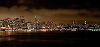 San Francisco City Scape at Night
