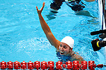 Engeland, London, 2 Augustus 2012.Olympische Spelen London.Ranomi Kromowidjojo pakte donderdagavond in het volgepakte Aquatic Centre de gouden Medaille op de 100 meter vrije slag