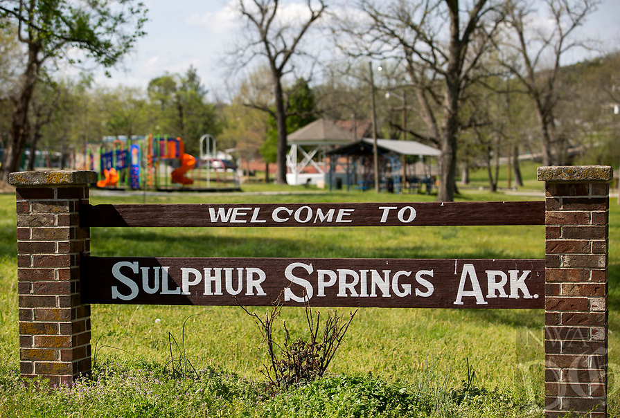 NWA Democrat-Gazette/JASON IVESTER<br /> Sulphur Springs City Park on Wednesday, April 12, 2017, in Sulphur Springs.