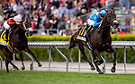 MAY 18: Bolo with Florent Geroux pulls off a 30-1 upset to win the Shoemaker Mile at Santa Anita Park in Arcadia, California on May 27, 2019. Evers/Eclipse Sportswire/CSM