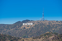 The Hollywood Sign, Los Angeles, CaliforniaT