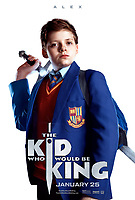 Character Poster - Alex<br /> The Kid Who Would Be King (2019) <br /> *Filmstill - Editorial Use Only*<br /> CAP/RFS<br /> Image supplied by Capital Pictures