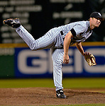 12 June 2006: Scott Dohmann, pitcher for the Colorado Rockies, on the mound against the Washington Nationals at RFK Stadium, in Washington, DC. The Rockies defeated the Nationals 4-3 in the first game of the four game series...Mandatory Photo Credit: Ed Wolfstein Photo..
