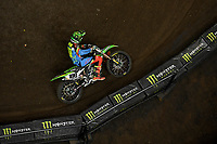 SX1 / Nathan Crawford<br /> Monster Energy Aus-XOpen<br /> Supercross & FMX International<br /> Qudos Bank Arena, Olympic Park NSW<br /> Sydney AUS Sunday 12  November 2017. <br /> © Sport the library / Jeff Crow