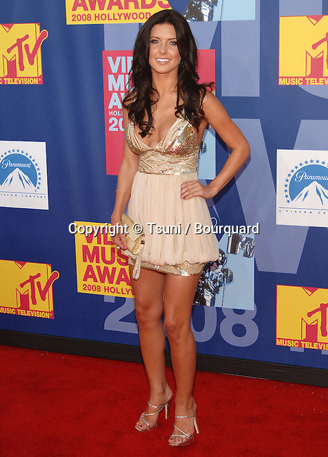 Audrina Patridge<br /> MTV - vma Awards 2008 on the Paramount Lot  In Los Angeles.<br /> <br /> full length<br /> eye contact<br /> smile