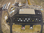 Winnemucca Airport from a quadcopter drone during public open house. (The airport was closed to traffic at the time of the photograph which was taken under the direction of the FBO.)