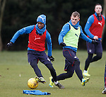Gedion Zelalem and Dean Shiels