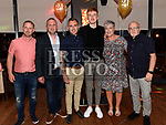 Sean Leahy celebrating his 21st birthday in Brú with parents Jack and Cathy, brothers Greg, Gary and Kenneth. Photo:Colin Bell/pressphotos.ie
