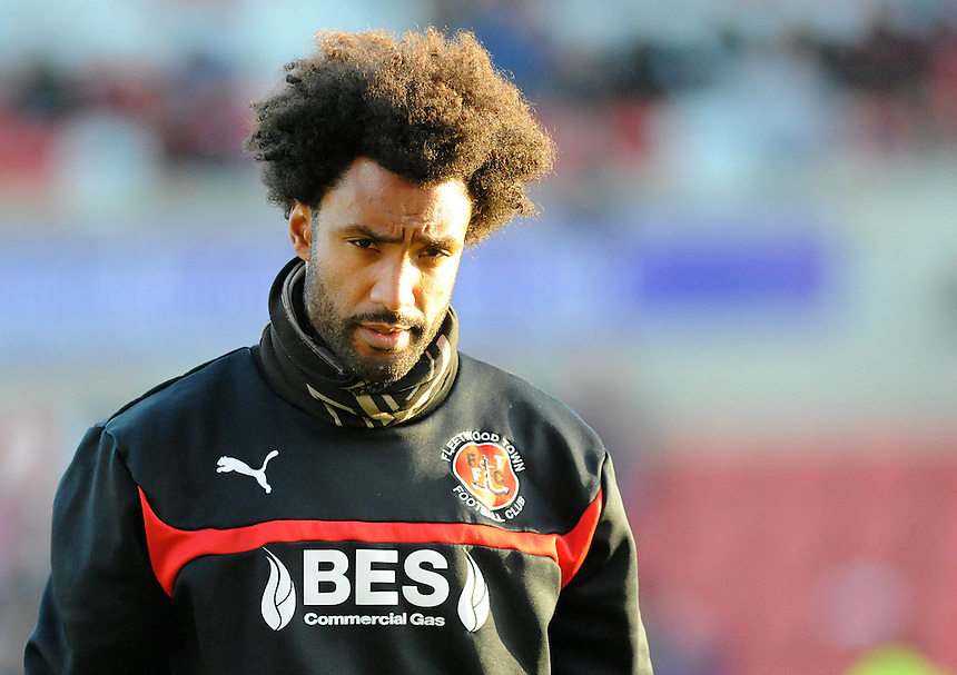 Fleetwood Town's Fitness coach Youl Maw&eacute;n&eacute;<br /> <br /> Photographer Ashley Crowden/CameraSport<br /> <br /> Football - The Football League Sky Bet League One - Swindon Town v Fleetwood Town - Saturday 29th November 2014 - County Ground - Swindon<br /> <br /> &copy; CameraSport - 43 Linden Ave. Countesthorpe. Leicester. England. LE8 5PG - Tel: +44 (0) 116 277 4147 - admin@camerasport.com - www.camerasport.com