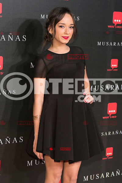 "Lucia de la Fuente attend the Premiere of the movie ""Musaranas"" in Madrid, Spain. December 17, 2014. (ALTERPHOTOS/Carlos Dafonte) /NortePhoto /NortePhoto.com"