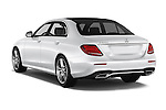 Car pictures of rear three quarter view of 2016 Mercedes Benz E-Klasse Sportline 4 Door Sedan Angular Rear