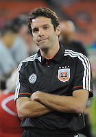 D.C. United Head Coach Ben Olsen .  The Chicago Fire defeated D.C. Untied 3-0, at RFK Stadium, Friday October 4 , 2013.
