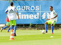 SAO PAULO, SP, 03 DE FEVEREIRO DE 2012. O jogador Artur treina no ct do Palmeiras na BarraFunda (FOTO: ADRIANO LIMA - NEWS FREE).