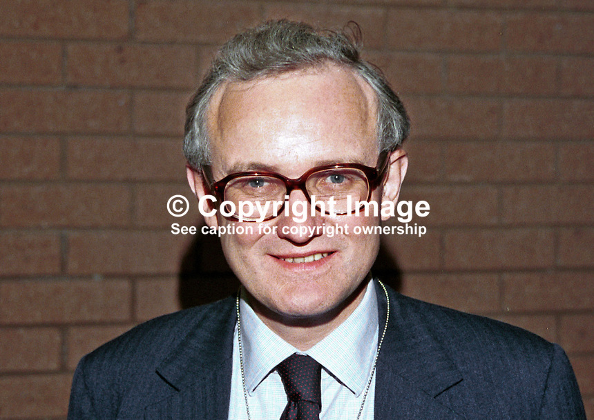 Douglas Hogg, MP, Minister, Conservative Party, Britaian, UK. Photograph taken at 1996 Conservative Party Conference in Bournemouth. 199610302.<br />