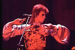 DAVID BOWIE as Ziggy Stardust  1973..© Chris Walter..