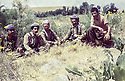 Iran 1980<br /> In Sheikhan, from left to right, Ezzedin Berwari, Hoshyar Zibari, Dr. Mohammed Saleh Goma, Falak Eddine  <br /> Iran 198O <br /> De gauche a droite, a Sheikhan, Ezzedine Berwari, Hoshyar Zibari, Mohammed Saleh Goma, Failak Eddin Kakai