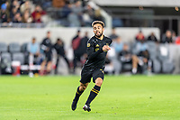 LOS ANGELES, CA - MARCH 08: Diego Rossi #9 of LAFC against Philadelphia Union during a game between Philadelphia Union and Los Angeles FC at Banc of California Stadium on March 08, 2020 in Los Angeles, California.