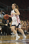 LAS VEGAS, NV - MARCH 7:  Kate Gaze during Pepperdine's 62-56 win over the St. Mary's Gaels in the 2010 Zappos West Coast Conference Women's Basketball Championships on March 7, 2010 at Orleans Arena in Las Vegas Nevada.
