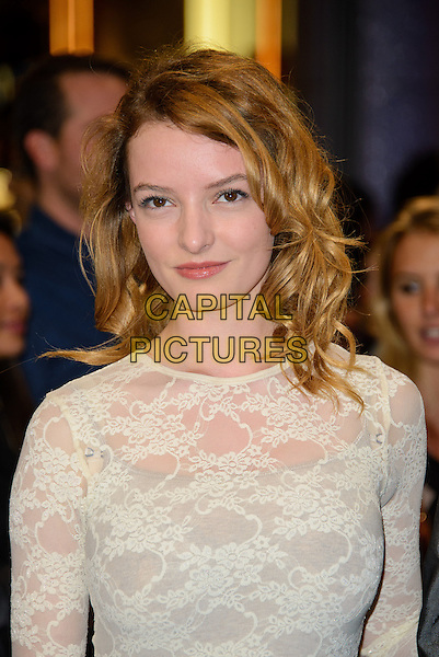 LONDON, ENGLAND - MARCH 20: Dakota Blue Richards attends UK Premiere of 'Captain America: The Winter Soldier' on March 20, 2014 in London, England. <br /> CAP/CJ<br /> &copy;Chris Joseph/Capital Pictures