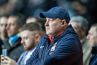 Coventry City Manager Russell Slade before the The Checkatrade Trophy - EFL Trophy Semi Final match between Coventry City and Wycombe Wanderers at the Ricoh Arena, Coventry, England on 7 February 2017. Photo by Andy Rowland.