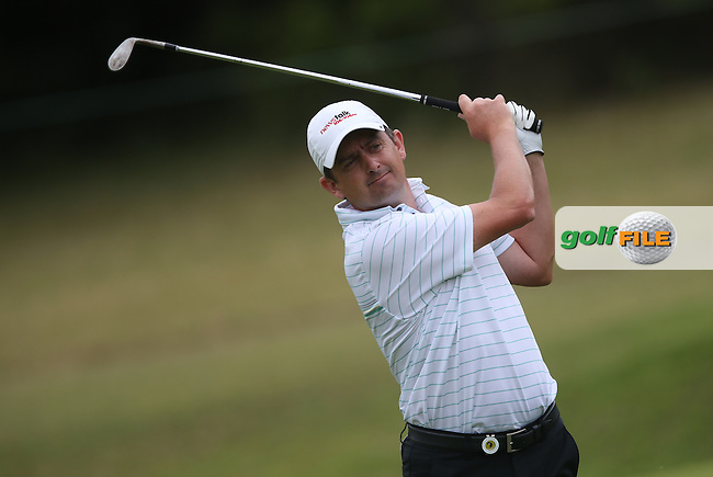 Peter Lawrie (IRL) plays third shot to the 8th during Round Two of the Africa Open 2015 at the East London Golf Club, East London, Eastern Cape, South Africa. Picture:  David Lloyd / www.golffile.ie. 06/03/2015
