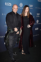 LOS ANGELES, CA - JANUARY 05: Russell Young (L) and Finola Hughes attend Michael Muller's HEAVEN, presented by The Art of Elysium at a private venue on January 5, 2019 in Los Angeles, California.<br /> CAP/ROT/TM<br /> &copy;TM/ROT/Capital Pictures