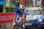 Jacopo Guarnieri (ITA) FDJ in action during Stage 1, a 14km individual time trial around Dusseldorf, of the 104th edition of the Tour de France 2017, Dusseldorf, Germany. 1st July 2017.<br /> Picture: Eoin Clarke | Cyclefile<br /> <br /> <br /> All photos usage must carry mandatory copyright credit (&copy; Cyclefile | Eoin Clarke)