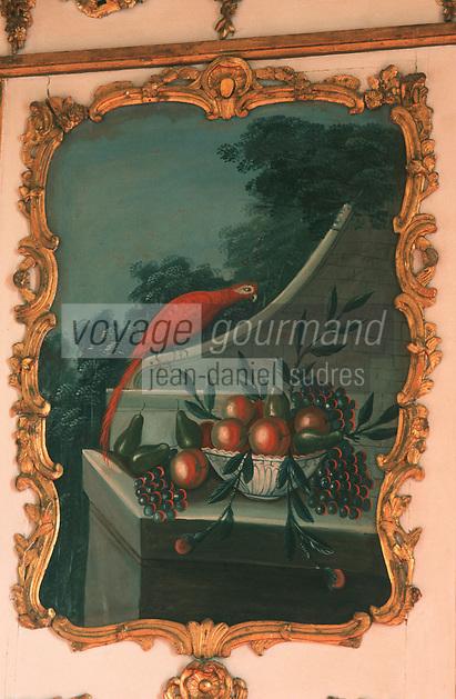 Europe/France/Champagne-Ardenne/51/Marne/Ay: Détail Décoration de la Maison Deutz Champagne