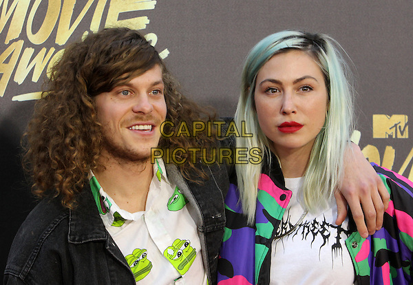 Burbank, CA - April 09 Blake Anderson, Rachael Finley Attending 25th Annual MTV Movie Awards at The Warner Brothers Studios On April 09, 2016. <br /> CAP/ADM/FS<br /> &copy;FS/ADM/Capital Pictures