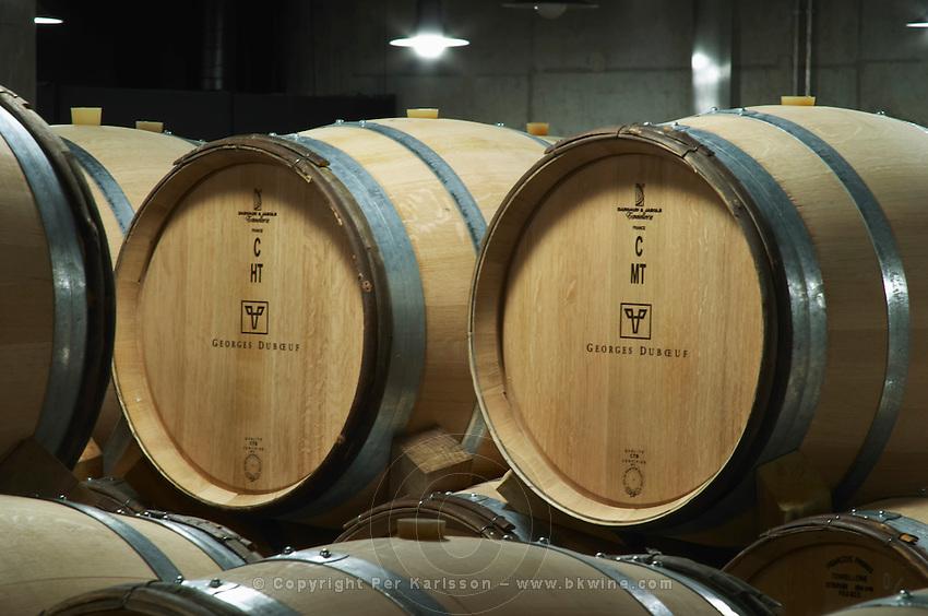 barrel aging cellar georges duboeuf beaujolais burgundy france