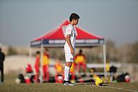 Dallas, TX - October 19, 2019: U.S. Soccer Development Academy Boys' U-13 Fall Central Regional Showcase at MoneyGram Soccer Park.