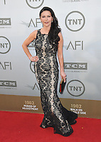 Catherine Zeta-Jones at the 2014 American Film Institute's Life Achievement Awards honoring Jane Fonda, at the Dolby Theatre, Hollywood.<br /> June 5, 2014  Los Angeles, CA<br /> Picture: Paul Smith / Featureflash