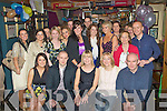 BIRTHDAY: A great night for Marju Alliksoon(seated centre) as she celebrated her 30th Birthday with her fiends and family in The Greyhound Bar, Tralee.................................................................. ........
