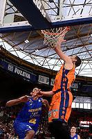 Nedovic - B&aacute;ez<br /> Liga Endesa ACB - 2014/15<br /> J12<br /> Valencia Basket vs Herbalife Gran Canaria